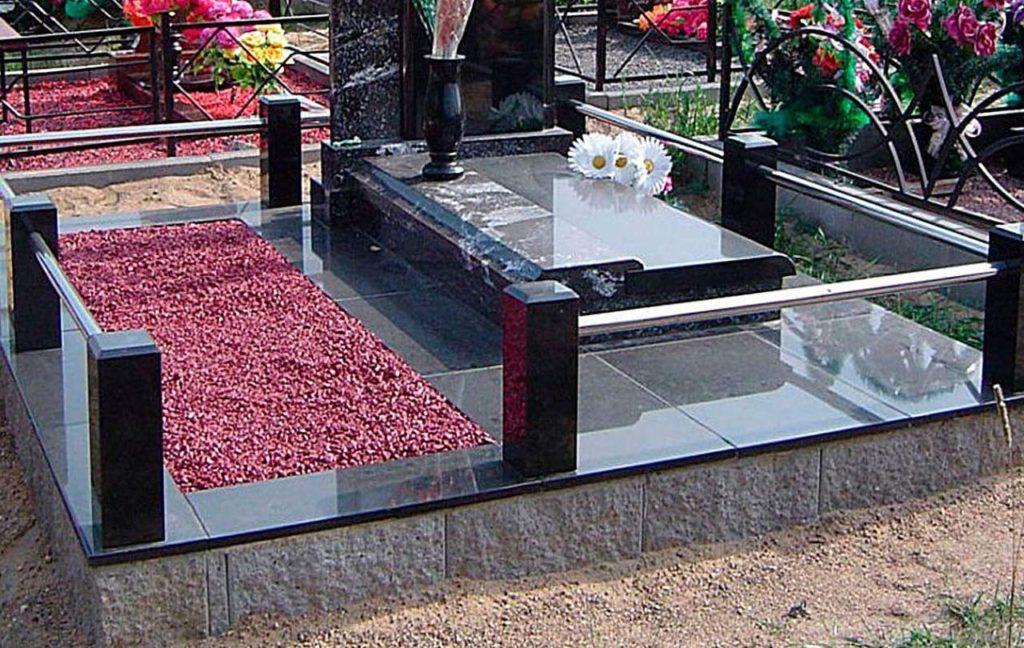 облицовка бисерным блоком, благоустройство могилы, обустройство могилы