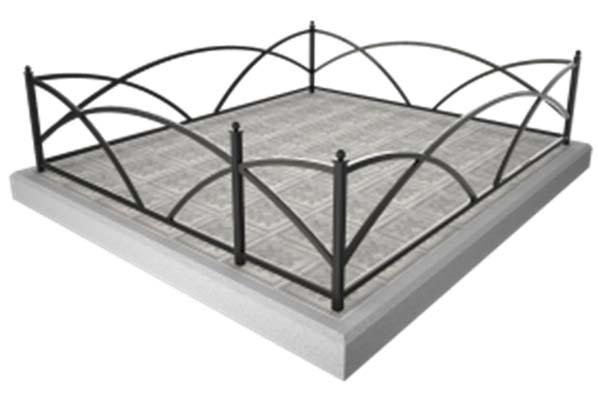 металлические ограды, ограды в Бобруйске, установка оград