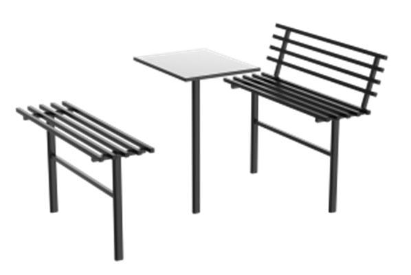 стол, стол на кладбище, ритуальный стол, столик и скамейка на могилу