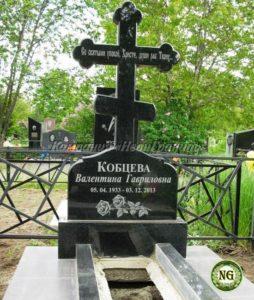 памятник с крестом, памятник из гранита
