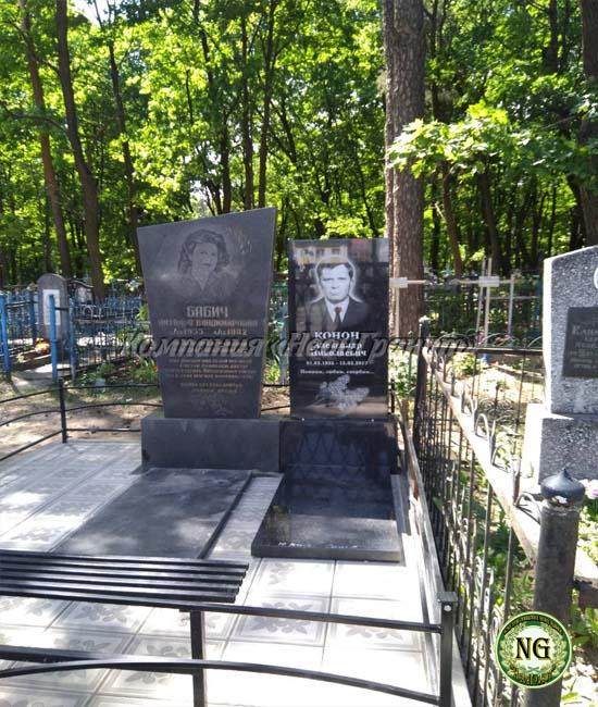 памятник на могилу, памятник рядом с другим памятником, памятники Бобруйск