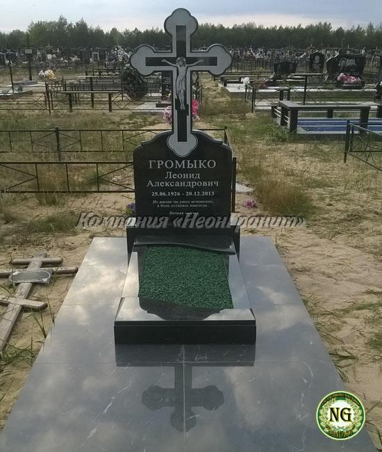 памятник с крестом, памятники из гранита, памятники в Бобруйска