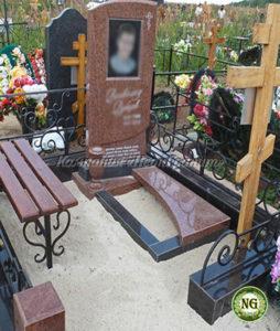 кресты, скамейки для памятников, вертикальный памятник, памятники в Бобруйске